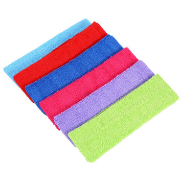 women eastic headband 1pcs sport yoga Turban Headbands headwear Wide Headband Stretch Ribbon Cotton headband Hair Accessories