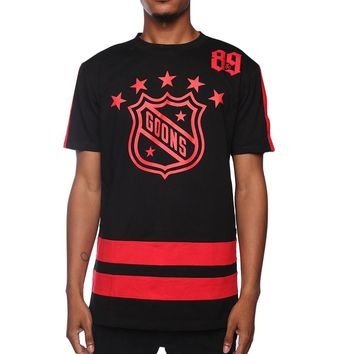 Goons OG Hockey Jersey Black/Red