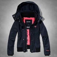 A&F All-Season Weather Warrior Bomber