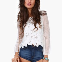 Kylie Lace Top