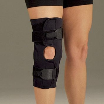 DeRoyal Deluxe Neoprene Pull Up Hinged Knee Support Lateral support