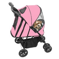 Pet Gear Happy Trails Pet Stroller - Strollers - Crates & Carriers - PetSmart