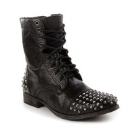Mens Steve Madden Trroy Stud Boot, Black, at Journeys Shoes