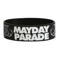 Mayday Parade Tattoo Rubber Bracelet