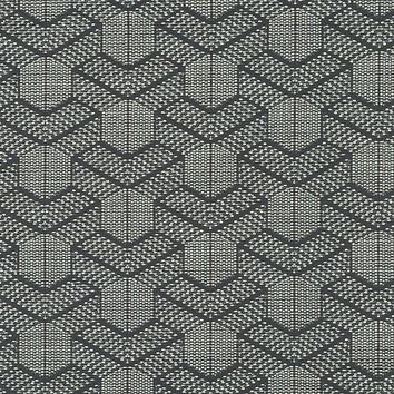 Robert Allen Fabric 262167 Carlo Geo Graphite