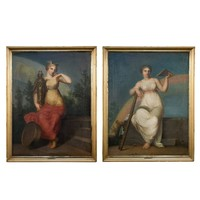 Pair of Paintings by Nicolai Abildgaard