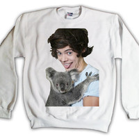 Holiday Sale - 17 Dollars - One Direction Harry Styles 004 Sweatshirt x Crewneck x Jumper x Sweater - All Sizes Available