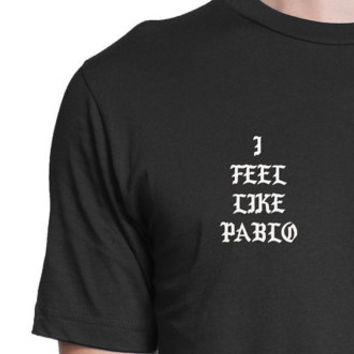I Feel Like Pablo T-Shirt For Kids Pablo T-Shirt, Kanye West T-Shirt Ultralight Beam, Yeezy, Season MSG, Unisex T-Shirt