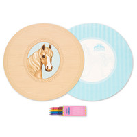 Ponies Activity Placemat Kit for 4