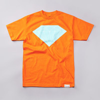 Flatspot - Diamond Big Brilliant T Shirt Orange