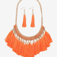 All About Fringe Necklace