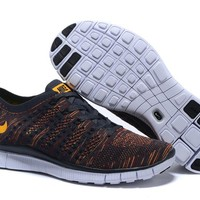 """Nike Zoom Fit Agility Flyknit5.0"" Men Sport Casual Multicolor Weave Sneakers Running Shoes"