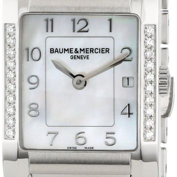 Baume and Mercier Hampton Stainless Steel Watch MOA10051