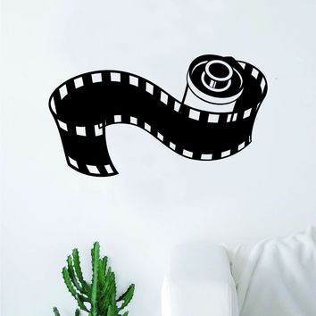 Film Photography Decal Sticker Wall Vinyl Art Wall Bedroom Room Home Decor Teen Pictures Camera TV Movies