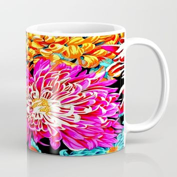 Chrysanthemums Mug by Azima