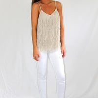 Zeppelin Fringe Top