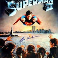 "Gene Hackman Signed Autographed ""Superman"" 11x17 Movie Poster (ASI COA)"
