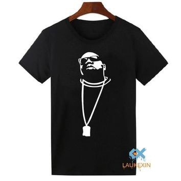 Biggie Smalls T-shirt 4 Retro Air Jordan White Black 11 T Shirt Mens Harajuku Camisetas Tees Shirt Plus Size