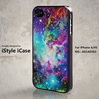 iPhone 4 Case iPhone 4s Case  Fox Fur Nebula Space by iStyleiCase