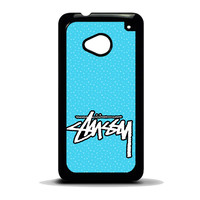 Stussy Raps St?ssy Surfware Clothing HTC One M7 Case
