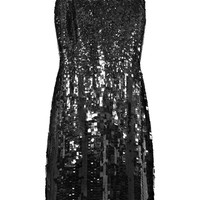 KAUFMANFRANCO | Sequined silk-chiffon dress | NET-A-PORTER.COM