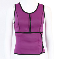 Fast Sweat Burn Breathable Women Waistband Vest Belt Slim Body Exercise