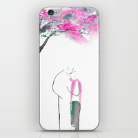 The kiss iPhone & iPod Skin by Color And Color