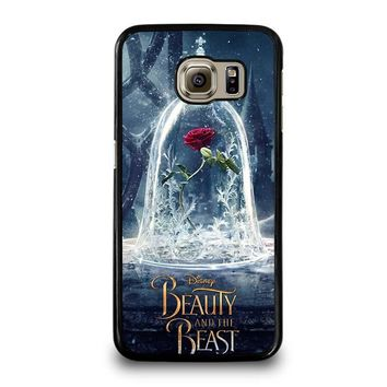 BEAUTY AND THE BEAST ROSE IN GLASS Samsung Galaxy S6 Case Cover