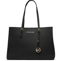 Jet Set Travel Saffiano Leather Tote | Michael Kors