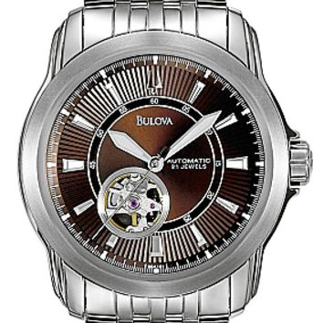 Bulova Men's Automatic Bracelet Watch 96A101
