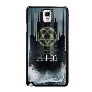 HIM BAND HEARTAGRAM Samsung Galaxy Note 3 Case Cover