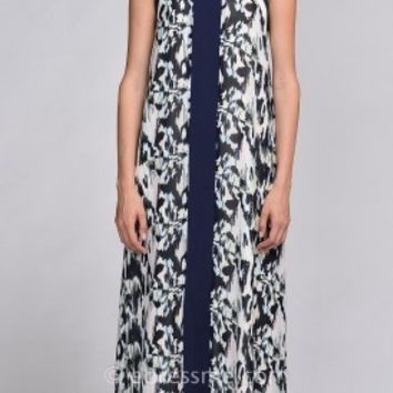 Aria Keyhole Maxi Dress by EDM Private Collection