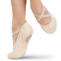 Split-Sole Canvas Ballet Shoe; Balera