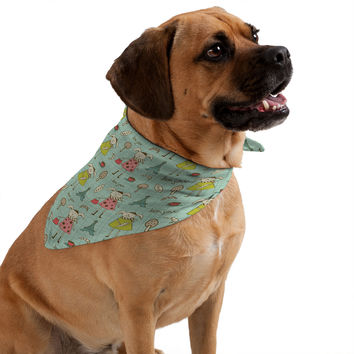 Heather Dutton Bonjour Lapin Pet Bandana