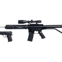 NEW M4 A1 M16 TACTICAL ASSAULT SPRING AIRSOFT RIFLE GUN w/ PISTOL LASER LIGHT BB