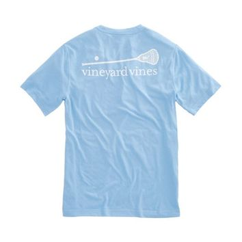 Short-Sleeve Lax Stick Performance T-Shirt