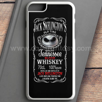 Jack Skellington Whiskey Daniels iPhone 6S Plus Case | casefantasy