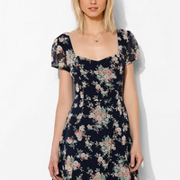 Lucca Couture Chiffon Cutout Fit & Flare - Urban Outfitters