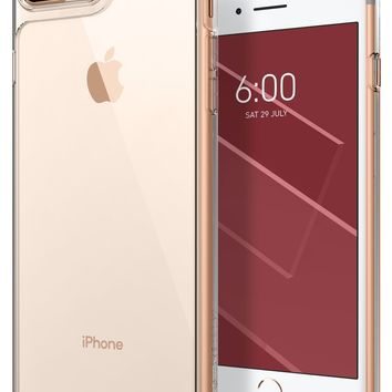 Caseology Waterfall Series iPhone 7 Plus / 8 Plus Cover Case with Clear Slim Protective for Apple iPhone 7 Plus (2016) / iPhone 8 Plus (2017) - Clear