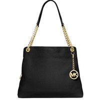 Jet Set Large Leather Tote | Michael Kors