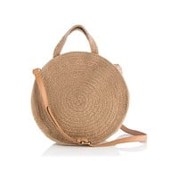 Women's Straw Crossbody Bag