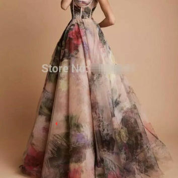 Custom Made Sweetheart Off Shoulder Chiffon Long Prom Dress 2016 Woman Evening Gowns
