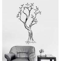 Vinyl Wall Decal Tree Nature Wood Room Decoration Home Art Stickers Unique Gift (ig2947)