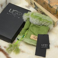 UGG Women Fashion Wool Winter Gloves