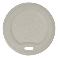World Centric CUL-CS-8 Lid For 8 Oz Hot Cup