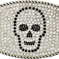 Crystal Skull Buckle