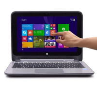 HP Pavilion 11-n010dx x360 Touchscreen Pentium N3520 Quad-Core 2.17GHz 4GB 500GB 11.6 LED Convertible Notebook W8.1 - B