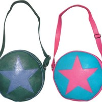 Scott Pilgrim vs. The World Ramona Flowers Star Circle Messenger Bag
