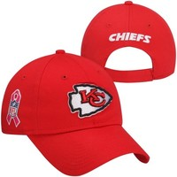 New Era Kansas City Chiefs Ladies 9FORTY 2013 On-Field BCA Adjustable Hat - Red