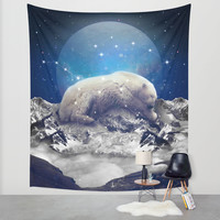 Under the Stars II (Ursa Major) Wall Tapestry by Soaring Anchor Designs